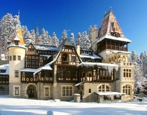 Castelul Pelisor, iarna